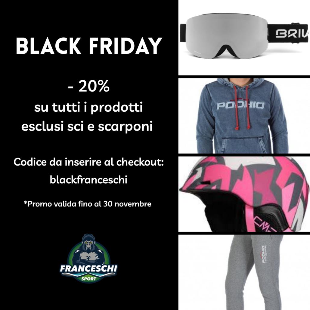 - 20% black friday Franceschi Sport