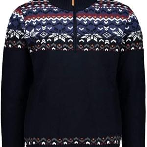 Cmp Man Knitted Pullover Blu - Franceschi Sport