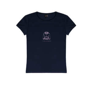 t-shirt Podhio donna I love my hoodie blu